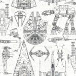 kalotaranis.gr-αυτοκόλλητη ταπετσαρία,διακόσμηση,star wars