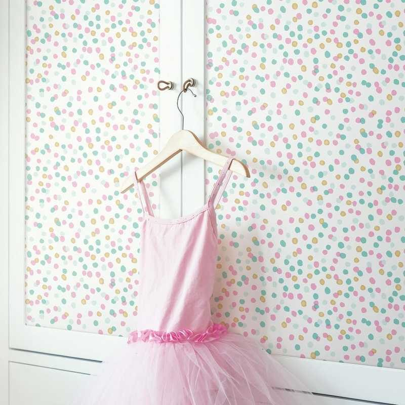 kalotaranis.gr-peel and stick wallpaper,decoration,confetti,dots
