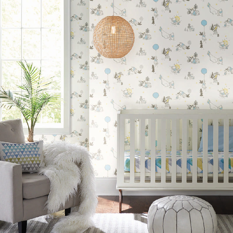 kalotaranis.gr-peel and stick wallpaper,decoration,Disney,winnie the Pooh