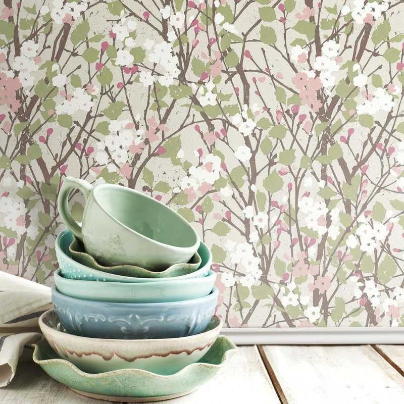kalotaranis.gr-peel and stick wallpaper,decoration,flowers,branches