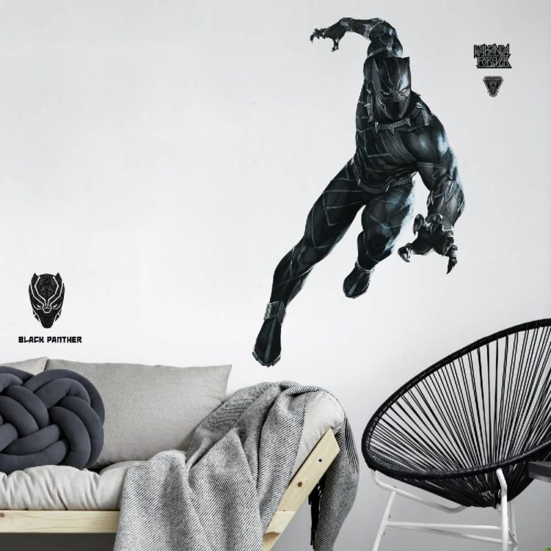 kalotaranis.gr-wall decals,marvel,avengers,black panther