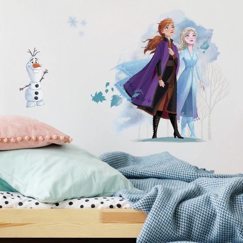 kalotaranis.gr-wall decal,dinsey,frozen,Olaf,Elsa,Anna