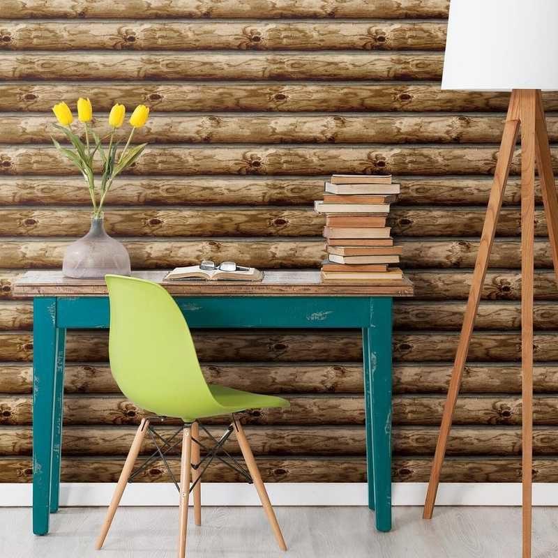 kalotaranis.gr-peel and stick wallpaper,decoration,logs,wood