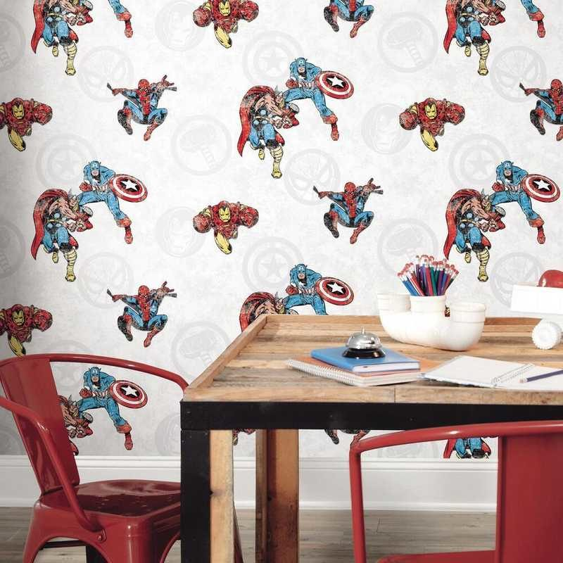 kalotaranis.gr-peel and stick wallpaper,decoration,super heroes,avengers,marvel