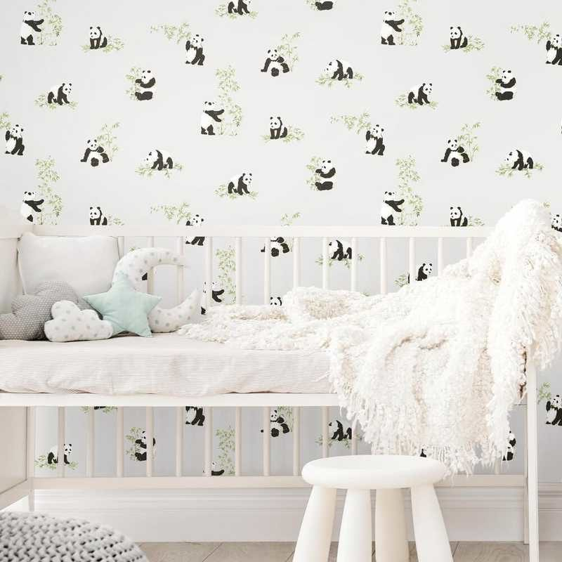 kalotaranis.gr-peel and stick wallpaper,decoration,panda,bamboo