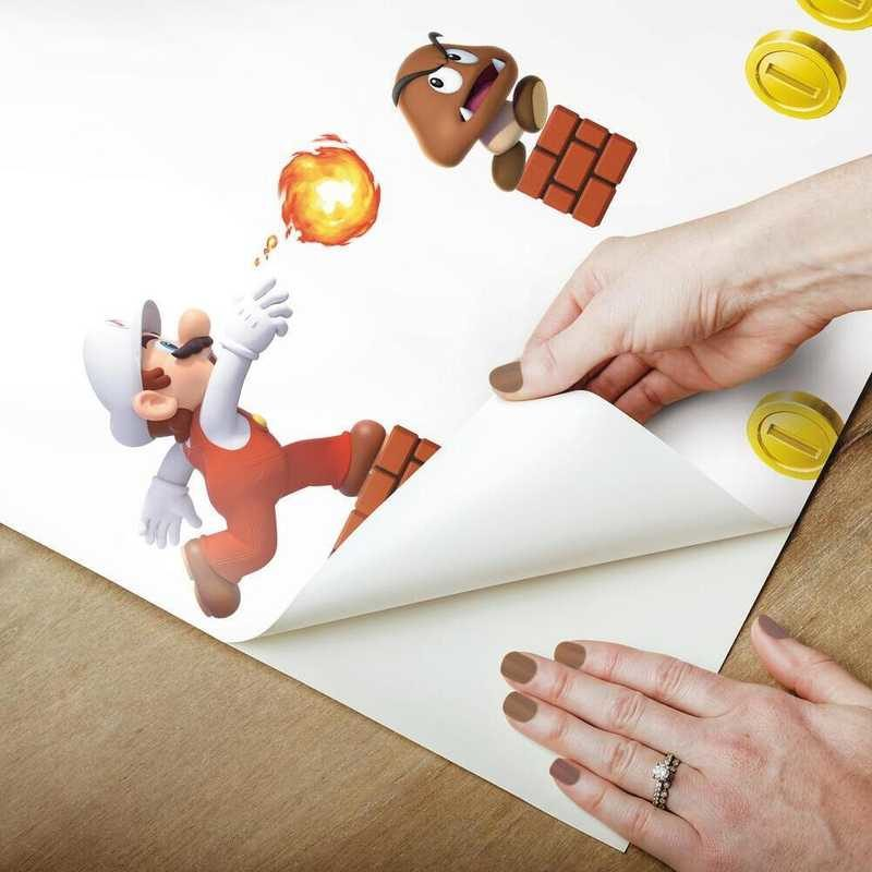 kalotaranis.gr-peel and stick wallpaper,Super Mario,Nintendo