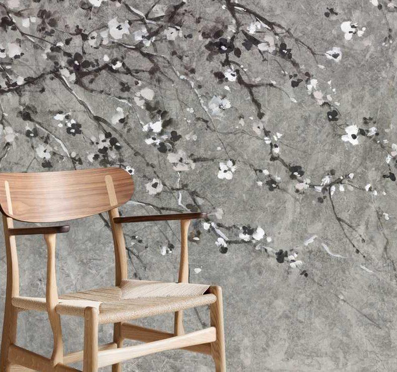 kalotaranis.gr-παράσταση τοίχου,άνθη κερασιάς