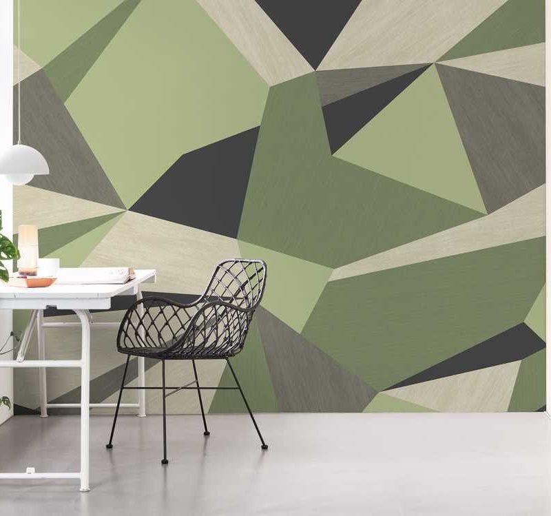 kalotaranis.gr-παράσταση τοίχου,γεωμετρικά σχήματα,ξύλο