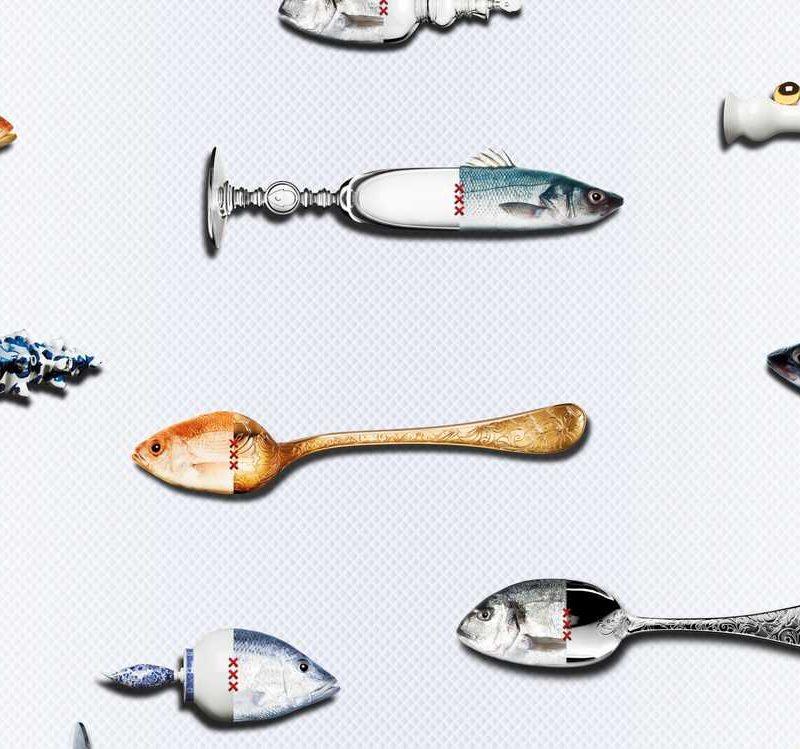 kalotaranis.gr-mural,fish,spoon,knife