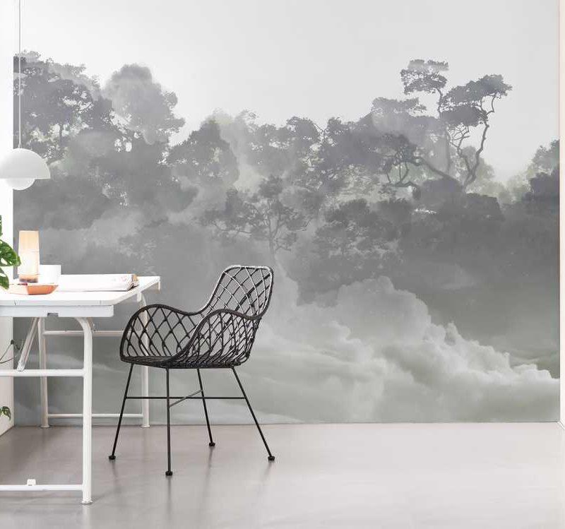 kalotaranis.gr-παράσταση τοίχου,τοπία,δάσος,ομίχλη