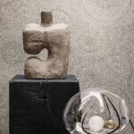 kalotaranis.gr-ταπετσαρία τοίχου,γεωμετρικά σχήματα,υφασμάτινη υφή